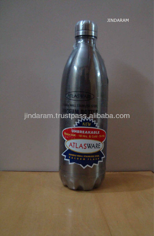 atlasware hot and cold vacuum water bottle