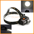 18650 Or AAA Battery Powered 1800LM 3 Mode SOS Outdoor Hunting Zoom Led Headlamp