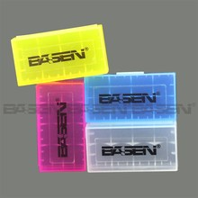 Wholesale Waterproof Battery Storage Case Holder for 18650 AA vape li-ion battery case protect battery box easily carry