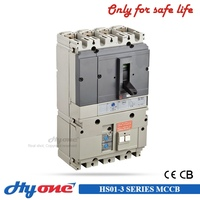 High quality mccb with earth leakage module IEC 947-2 ns 4p 160a moulded case circuit breaker