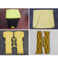 2014 Hot Selling Injection Plastic Pedal Dustbin Mould