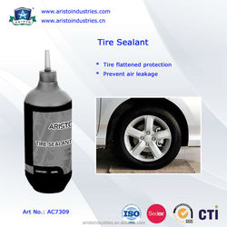 Puncture repair liquid tyre sealant, tyre sealant kit, anti puncture tyre sealant