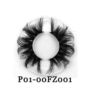 he40026a Hot style pure handmade 100% mink hair lashes false eyelash