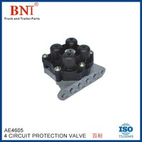 Air Brake Valve Four Circuit Protection Valve