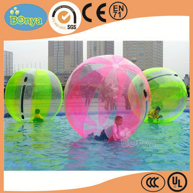 Latest fashion first grade quality water walking ball for lake
