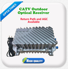 South America 4 way return path catv outdoor optical node receiver with AGC