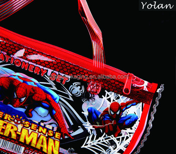 hot sale cartoon PVC stationery bag ,pvc storage bag for kids