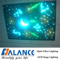 optic fiber starry star ceiling light,lighting decoration of building