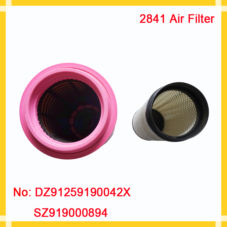 High-quality Wood Pulp Paper air intake filter for trucks
