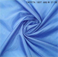 polyester taffeta lining fabric for outdoor clothes bags