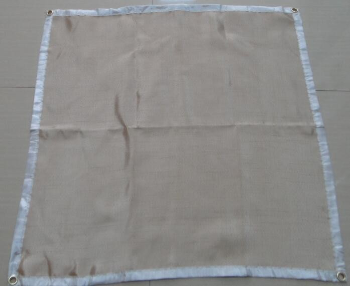 Welding blanket with fire flame retardent fiberglass for Is fiberglass insulation fire resistant