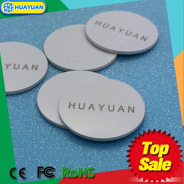 13.56 MHz MIFARE Classic 1k RFID token tag NFC coin tag laundry tag