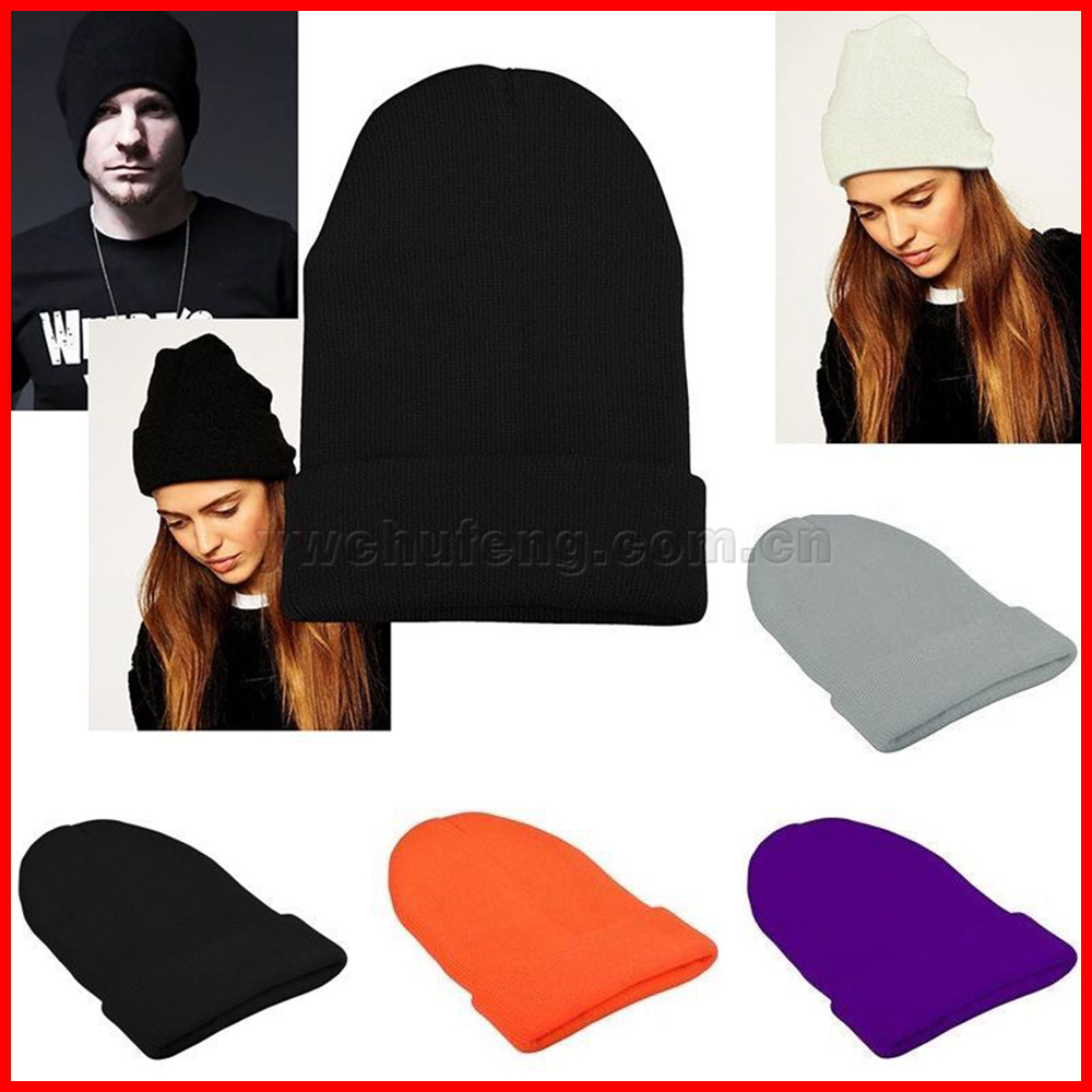 Slouchy Beanie Winter Warm Knit Ski Skater Hip-hop Hat Men's Women's Unisex