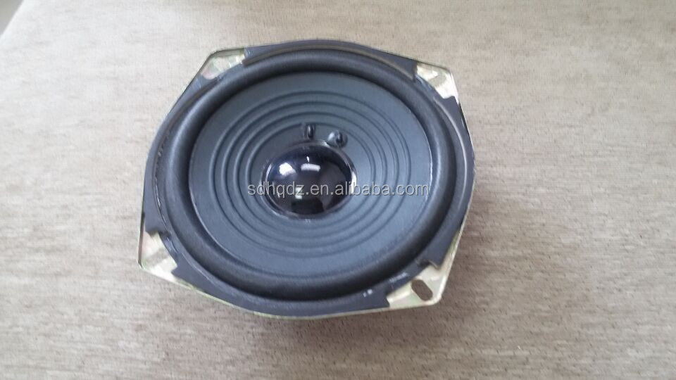 huanqiu brand 3 inch 8 ohm woofer speaker with metal frame
