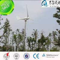 500w 12v 24v 48v AC small wind turbine for home use