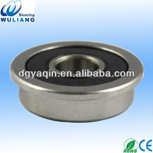 Stainless steel deep groove SF608RS flange bearing
