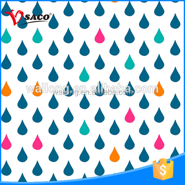 Polyester good water absorption latest curtain design 2016 with great price