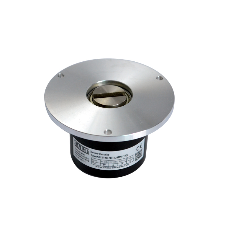 CALT 58mm rotary encoder 5mm key slot 1024 ppr NPN output