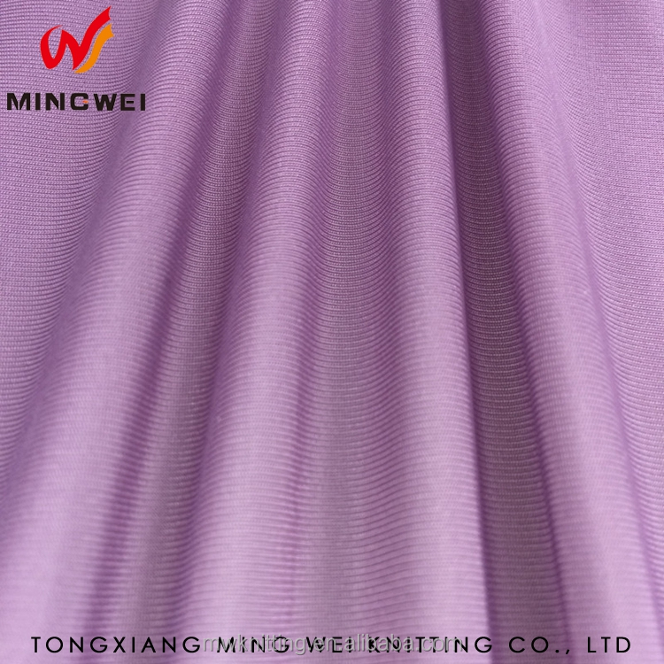 2017 Hot Micro Polyester Knit Spandex Jersey Fabric