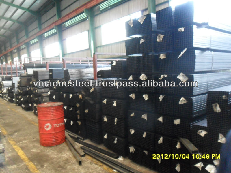 VNO Black Steel Pipe/Tube