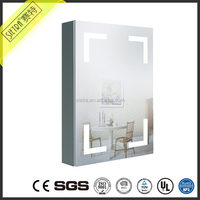 LED Waterproof Commercial Modern Bathroom Vanities Cabinets Sets