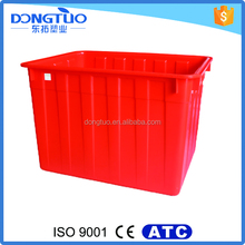 200L hard plastic water box container, water tank plastic