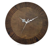 12 Inch Round Manufacturer Supply MDF Wood Wall Clock
