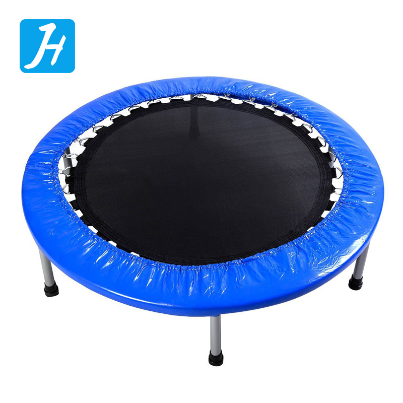 Home Gym Multifunction Mini Foldable and Portable Trampoline Round Jumping Mat Trampoline for Children Adult Outdoor Fun Exercis