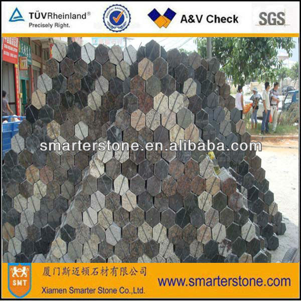 Cheap granite hexagon paver