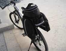 Waterproof Bike Bag Cycling Rear Seat Trunk Bag Panniers Bicycle Accessories With Raincoat