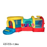 cheap mini bouncy castles inflatables castles hinchable combo for sale