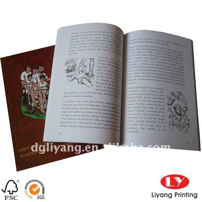 Customized softcover book