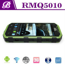 New Arrival MTK6582 Quad Core 5 Inch IPS Screen RAM 1GB ROM 8GB Battery 3000mAh Waterproof Shockproof Android Smart Mobile Phone