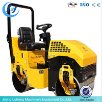 ride-on price road roller compactor,smooth wheel roller in machinery,used machinery single drum roller SYW-88