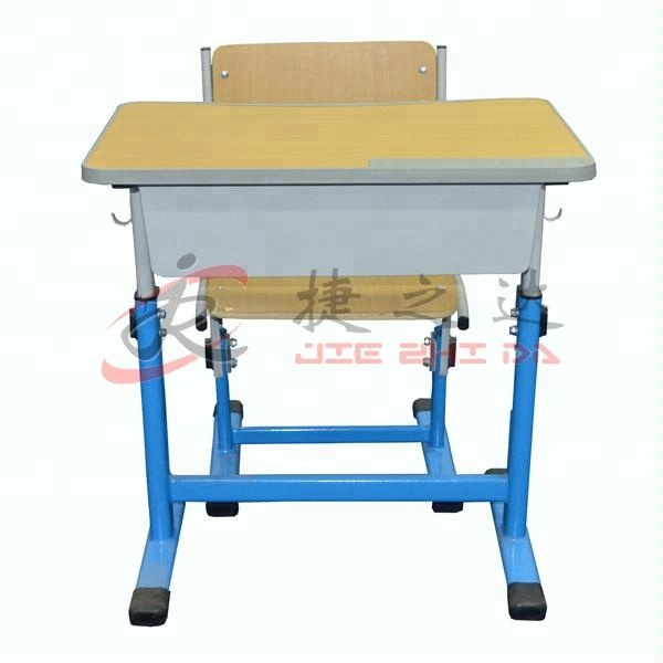 Wholesale School furniture cheap modern school desk and chair For Sale