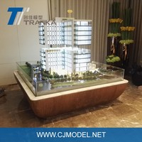 Professional 3D Single Building Model Architectural