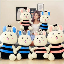 Wholesale baby bee rabbit dolls plush toys for sale