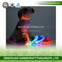 2014 cat toy best electrical LED lighting dog collars for christmas wholesale