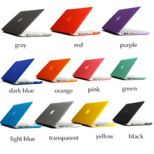 wholesale sell matte PC hard cover case for macbook pro 13.3' and 15.4' , for macbook pro accessories