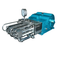 New Type Cleaning Equipment 8000-40000 PSI High Pressure Hydraulic Triple Gear Pump
