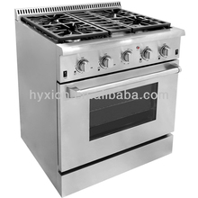 Kithchen Cooking gas stoves with oven and grill
