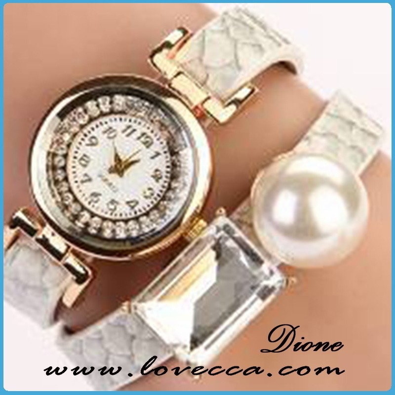 Unusual gift elegant lady watch