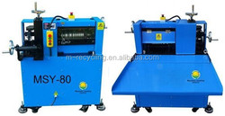 MSY-80 scrap wire peeling machines, scrap wire stripping equipment cable strpper machine