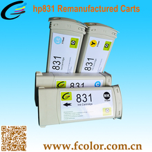 Hot Premium Recycling For hp831 Compatible Ink Cartridges