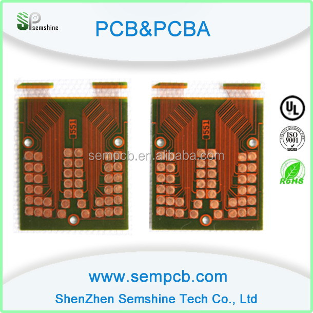 Electronic pcb manufacturer test prototype car flex circuit board
