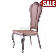 Cheap price elegant new model with armrest dining room chair for tiffany