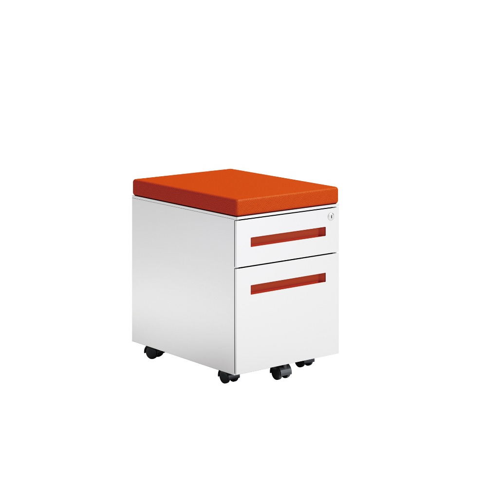 Office furniture file storage 2-drawer seater Steel cabinet
