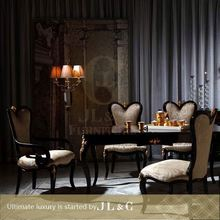 Luxury dinning room sets 2014 high gloss wooden dining table designs JT26-01 from china supplier-JL&C Furniture