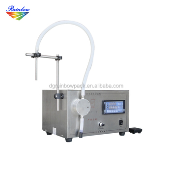 Easy operated electric small scale bottle liquid filler