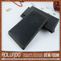 Modern Style Mens Wallet Leather Black